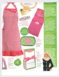 Pink Monogram in Womans World Jan 2012 http://thepinkmonogram.com
