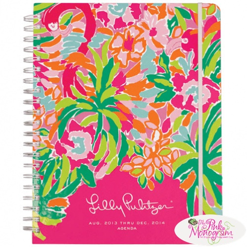 Lilly Pulitzer Agendas Are In Stock | The Pink Monogram