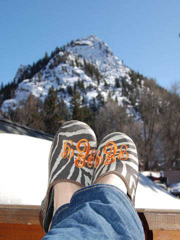 Relaxing In Aspen,colorado...on A Blue Bird Day. Shadow Mountain In The Background. Paula Eaton