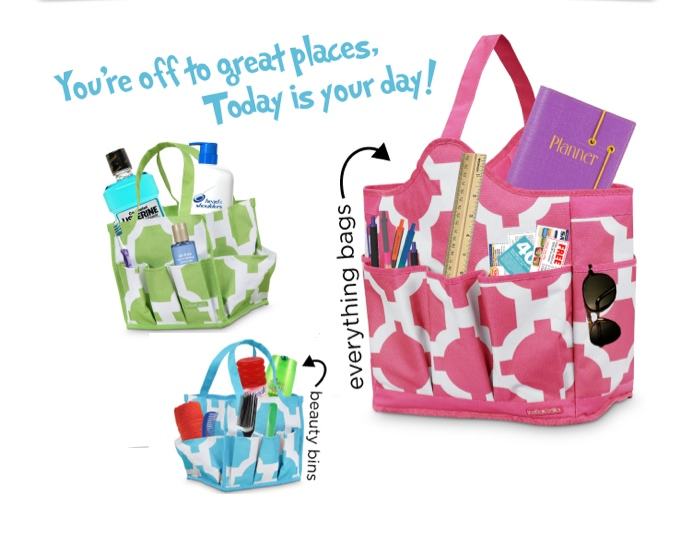 graduation gifts the pink monogram page 3 shower caddy tote