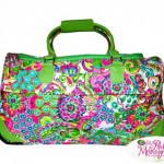 Travel in Style with a Beautiful Monogrammed Rolling Duffel