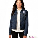 Perfect for Fall Fashion: Our New Denim Jacket with Monogram