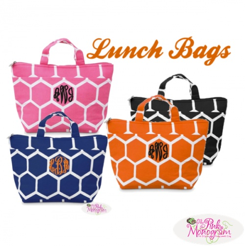 insulated lunch bags http://www.thepinkmonogram.com/66976/monogrammed/monogrammed-insulated-lunch-tote-in-8-colors/