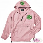 Stay Dry and Look Great in Monogrammed Rain Gear