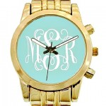 New Goldplated Monogram Boyfriend Watch