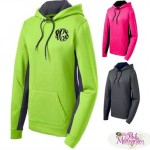 Bright and Bold Monogrammed Hoodies for Fall Color
