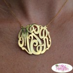 Unbelievable Sale on Solid Gold and Diamond Monogrammed Jewelry
