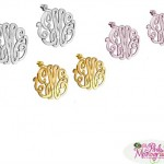 New Monogram Post Earrings For All Day Wear