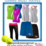 Monogrammed Apparel for Women into Fitness