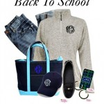 Monogrammed Heathered Pullovers Perfect for Fall Layering
