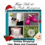 Save 20% Off Monogrammed Gifts