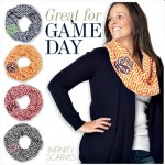 New for Fall! Greek Key Infinity Scarf