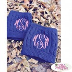 Monogrammed Boot Socks: A Fashion Favorite