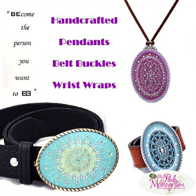 Great Gift to Go: Gorgeous Accessories by BeltEnvy bracelets, belt buckles, pendanted in patterns and handcrafted with care