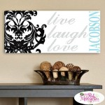 Decorative Personalized Canvas Prints for Wall Hanging