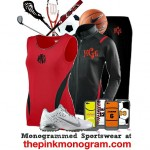 Beautiful Fitness Clothing For Women with Free Monogram