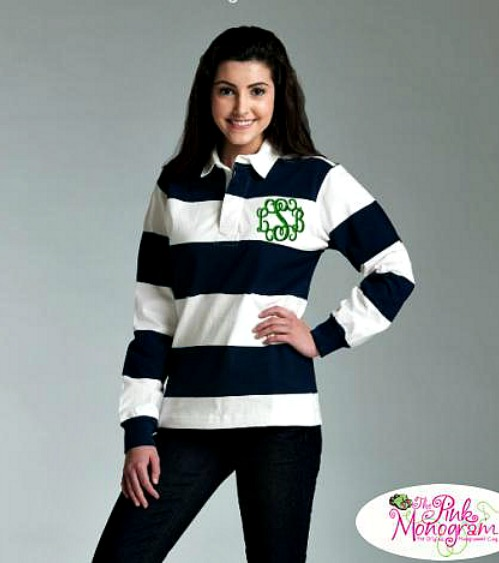 Monogrammed Rugby Shirts