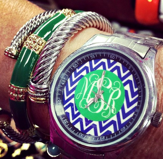 Beautiful Summer Jewelry Trends watch and bangles stack