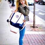 Weekender Bag Featured On: Lovely Little Style
