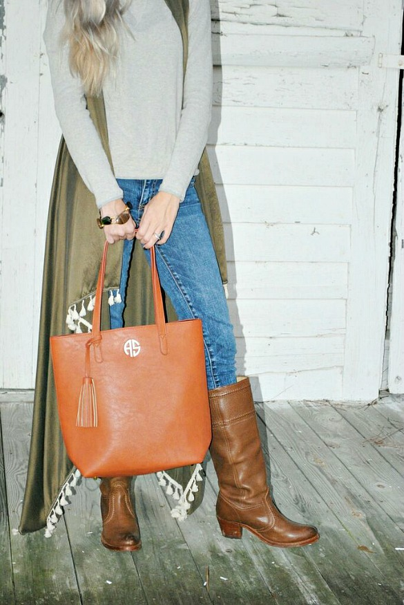 Amazing Vegan Tote Bag Featured On: LittleSouthernLife