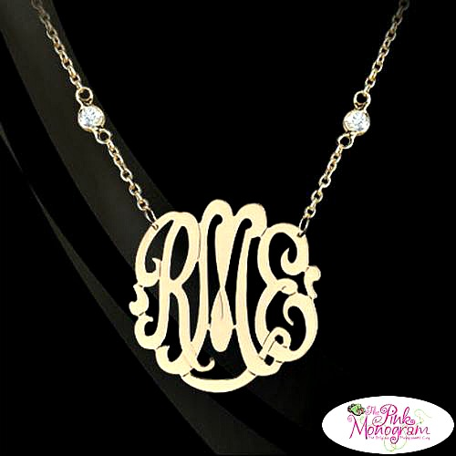 Memorable Monogrammed Jewelry Gifts
