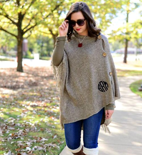 Ponchos Are Trendy and Versatile For Winter