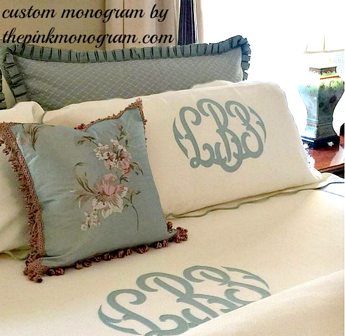 Best Monogram Ideas for The Home from The Pink Monogram