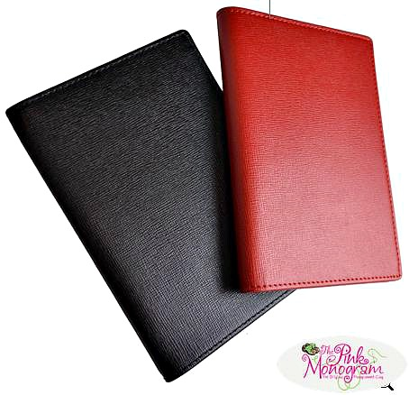 Graduation gift ideas - Monogrammed Staffiano Leather Passport case
