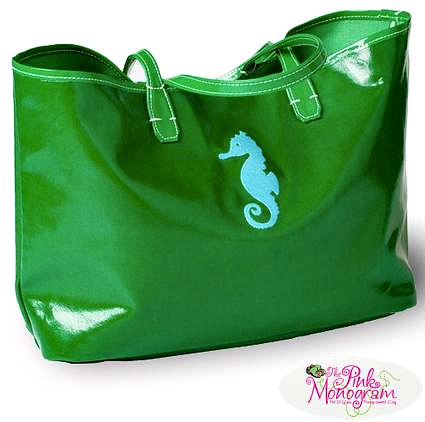 Hot Summer Preppy Trends for 2016 - seahorse tote thepinkmonogram.com